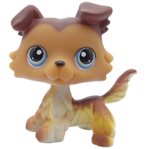 pet shop puppies original littlest pet shop collie 58 variant paws in figures