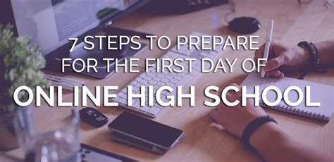 7 Tips To Prepare For A by 7 Steps To Prepare For Day Of High School