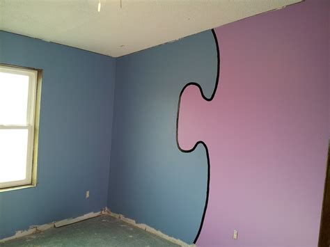 how to paint a room to make it look bigger painting rooms two different colors home combo
