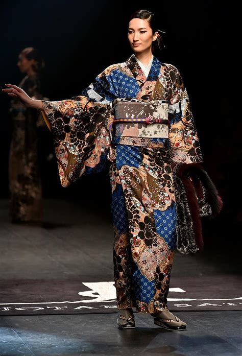 japanese fashion designers the 1847883109 kimonos get rock n roll makeover at japan fashion week lifestyle gma news online