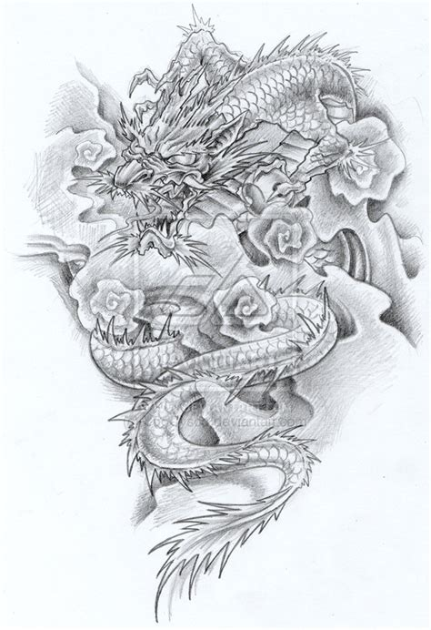 the best dragon tattoo traditional japanese tattoo design