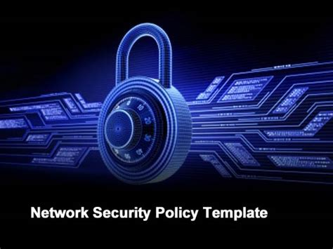 network policy template fifteen essential compliance and security tools and templates
