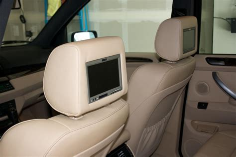 Tv Headrest vizualogic headrest lcds sirius tv installed