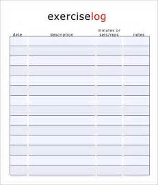 workout diary template search results for food and exercise log template