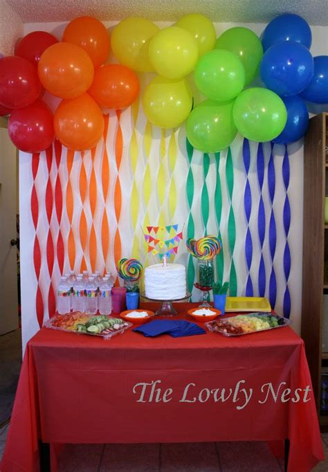 Birthday Decorations With Crepe Paper by Best 25 Crepe Paper Decorations Ideas On