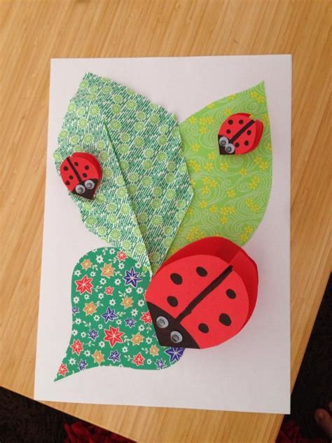 Paper Ladybug Craft - 1000 images about vac care on paper collages