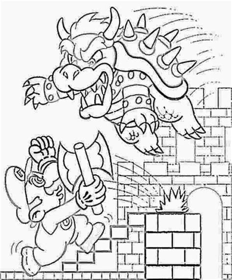 mario castle coloring pages coloring pages mario coloring pages free and printable