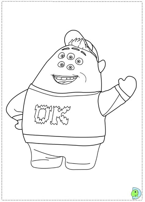 coloring pages of monster university monsters university free colouring pages