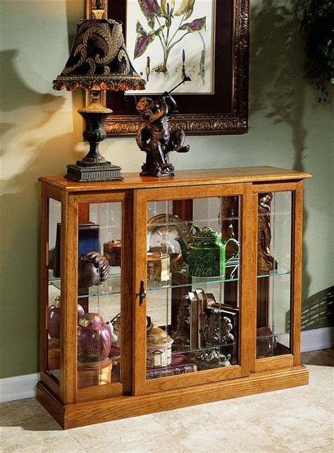 home decor express 33 in console curio cabinet express home decor