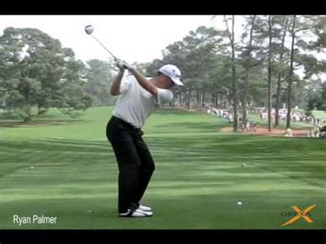 ryan palmer golf swing ryan palmer 2012 masters at augusta national golf club