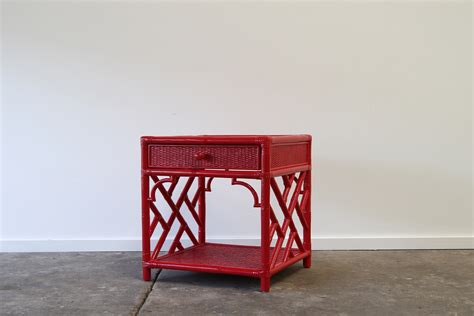 bed side ls red chippendale bedside ls naturally cane rattan and
