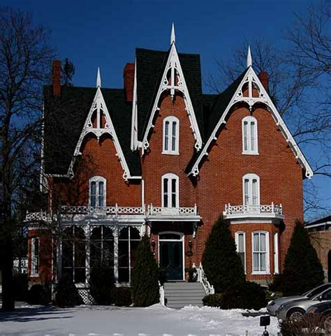 victorian gothic revival gothic revival house these houses are quite popular for