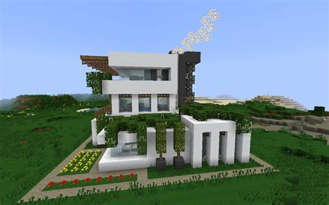 modern houses minecraft perma frost modern minecraft house