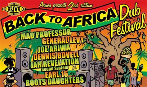 Back In Africa by Back To Africa Festival