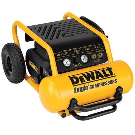 dewalt d55146 200 psi portable emglo air compressor ehp ebay