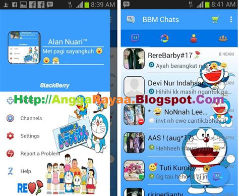 themes doraemon bbm bbm mod beta tema doraemon versi 290 0 0 29 apk indo cur