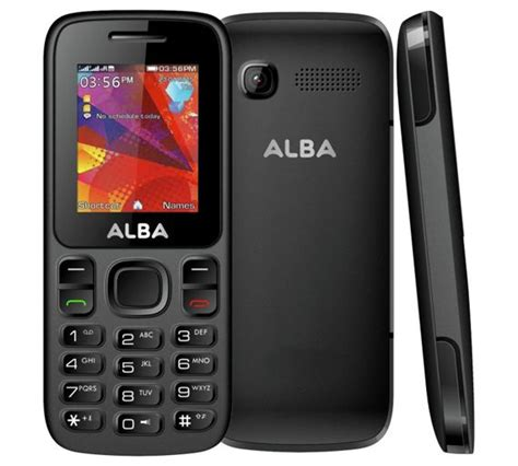 mobili alba buy sim free alba mobile phone black at argos co uk