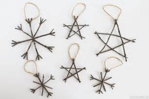 rustic twig christmas ornaments rustic christmas ideas