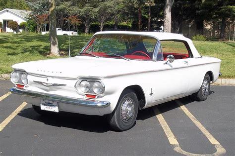 Orange Interior Paint 1962 Chevrolet Corvair Convertible 108225