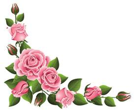 Flowers Home Decoration corner decoration with roses png clipart picture gallery