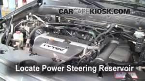 fix power steering leaks honda cr v 2002 2006
