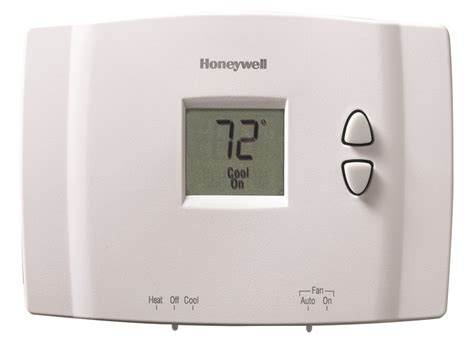 digital non programmable thermostat rth111b honeywell
