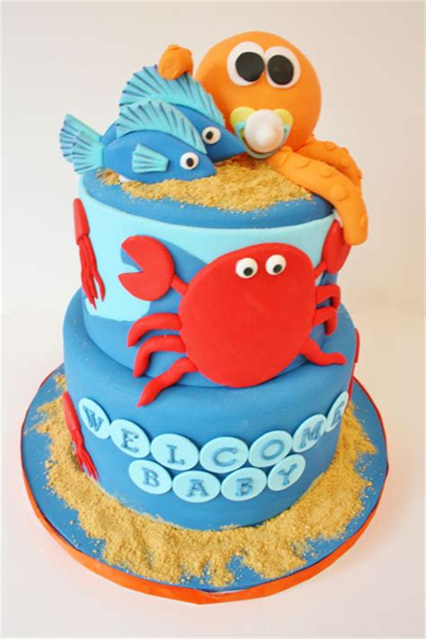 baby shower cakes new jersey the sea custom cakes