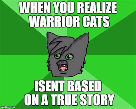 warrior cats meme imgflip