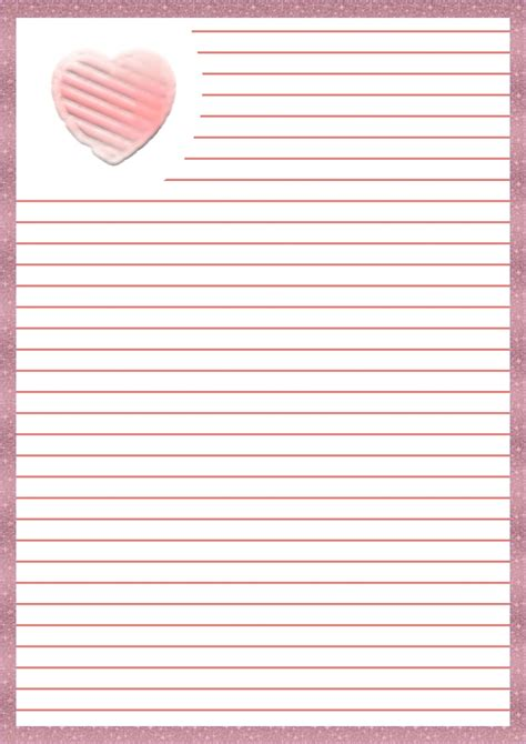 hojas para escribir cartas papel para cartas de amor imprimible imprimibles y png