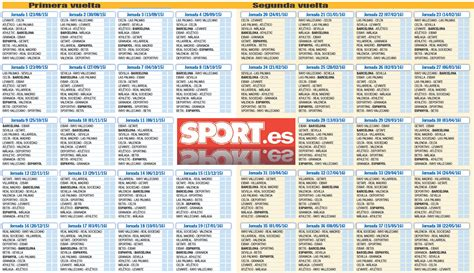 Calendario De La Liga Espanola 2015 Search Results For Calendario Liga Bbva 2015 2016