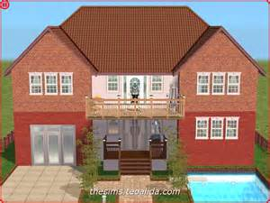 Tiny Two Story House by Symmetrical Palace Style House On 2x2 Lot The Sims Fan Page