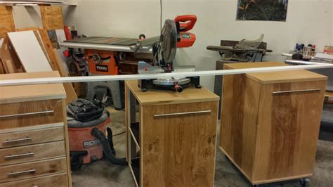 Miter Saw Cabinet by 187 Meet The Maker Ty Moser