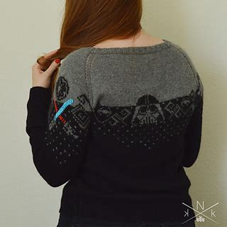 star pattern knit sweater ravelry star wars sweater pattern by natalie meredith