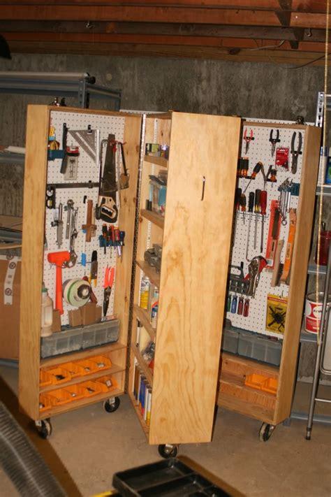 portable tool storage unit diy pinterest  tool