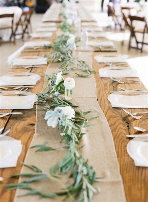 eucalyptus table runner eucalyptus runners for your pittsburgh wedding