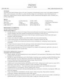 Low Voltage Technician Sle Resume by Adam Podgorski Resume