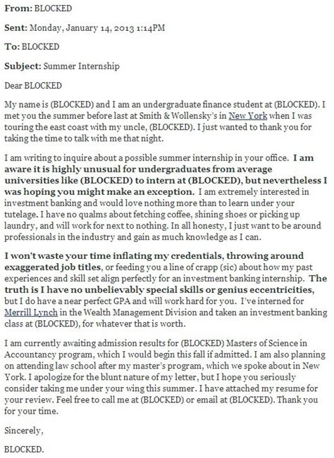 best investment bank cover letter investment banking