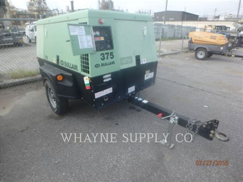 used 2011 sullair 375cfm for sale walker cat