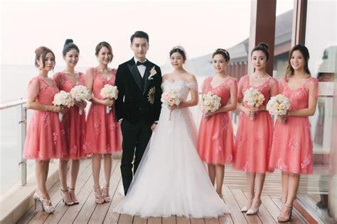 gillian chung wedding photos joe chen and gillian chung the limelight from