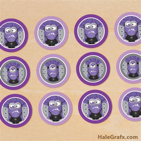 printable purple minion eyes 8 best images of purple minion printables evil minion