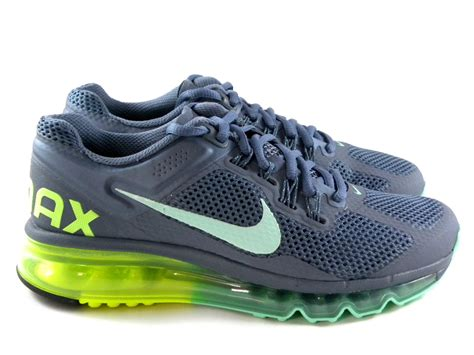 nike air max 2013 armory gray blue running work