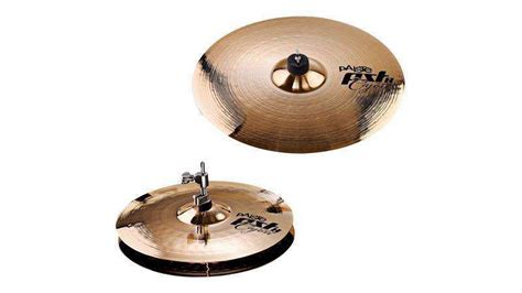 cajon with cymbals paiste ltd pst8 cajon cymbal set