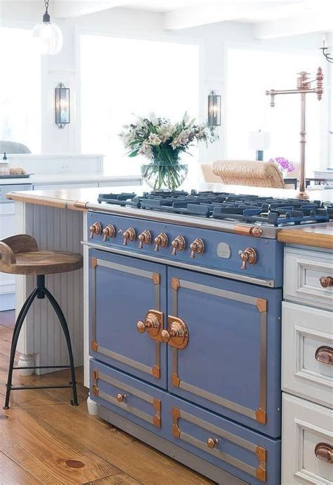 antique stove recycled as kitchen island kitchen islands 31 smart kitchen islands with built in appliances digsdigs