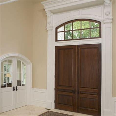 Build Up Trim Around Front Door Ashley S House Ideas Around Front Door
