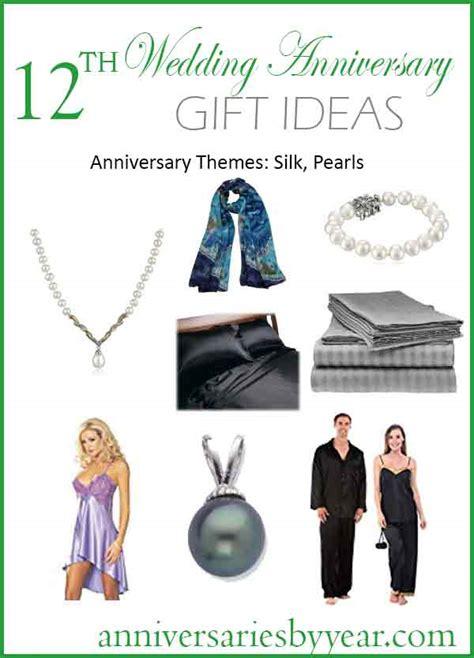 12th anniversary twelfth wedding anniversary gift ideas