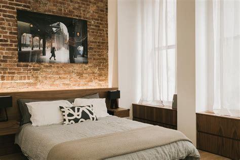 redbrickbuilding master bedroom curtains brick accent walls living room industrial with brick