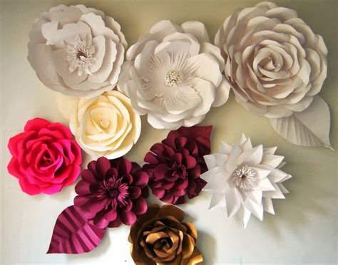membuat bunga mawar cantik  kertas