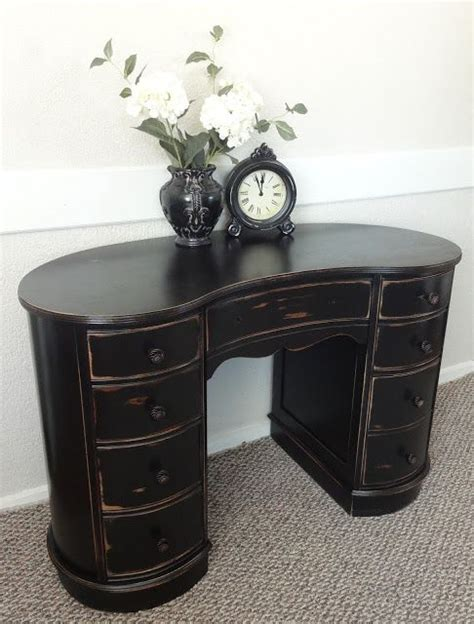590 Best Images About Painted Antiques On Pinterest Milk Kidney Bean Shaped Desk