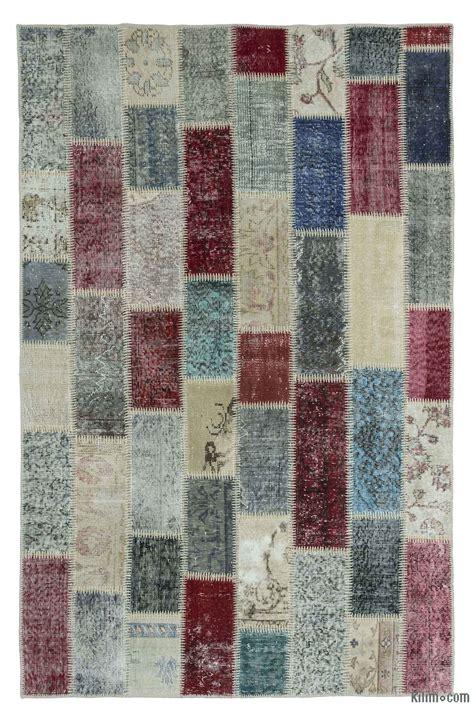Turkish Overdyed Patchwork Rugs - overdyed patchwork rugs kilim rugs overdyed vintage