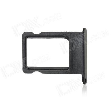 Black Sim Tray Metal replacement metal iphone 5 nano sim card tray holder black worldwide free shipping dx